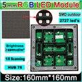 3in1 SMD полноцветный дисплей P5 СВЕТОДИОДНЫЙ модуль, 1/8 сканирования, 160*160 мм 32*32 пикселей; водонепроницаемый RGB панели, можно настроить p10 модуль