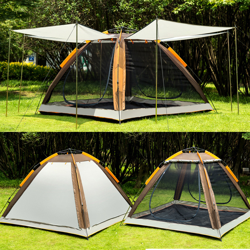 New outdoor 4-5 automatic tent automatic speed open tent sunscreen mosquito insect shelter camping tent ultra light portableNew outdoor 4-5 automatic tent automatic speed open tent sunscreen mosquito insect shelter camping tent ultra light portable