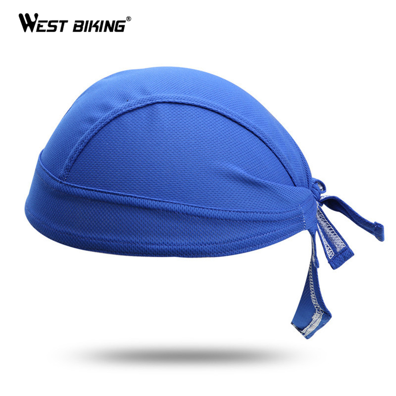 WEST BIKING Mountain Road Cycling Pirate Caps Bandana Ciclismo Breathable Casquette Gorras Headscarf Headband Bicycle Bike Caps longkeeper mens snapback caps for men women quick dry sun hats bone gorras beisbol chapeu 2017 new casquette gu 14