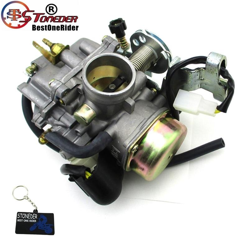 STONEDER Carburetor For ASW Manco Talon LinHai Bighorn 250cc 260cc 300cc  ATV UTV FS300 CVK ATV Dirt Pit Bike Go Kart Buggy-in Motorbike Ingition  from