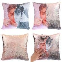 BTS Reversible Sequin Pillow Cases (3 Models)