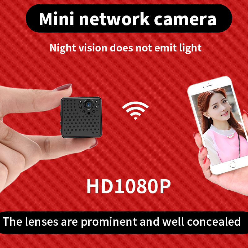 can be hided more easily 2017 August mini camcorder with prominent lens 1080P wireless wifi Camera