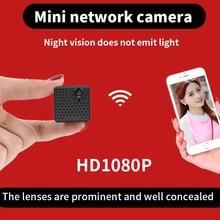 Может быть скрывается более легко 2017 августа мини видеокамера с заметным объектив 1080 P Беспроводной Wi-Fi Камера безопасности запись видео