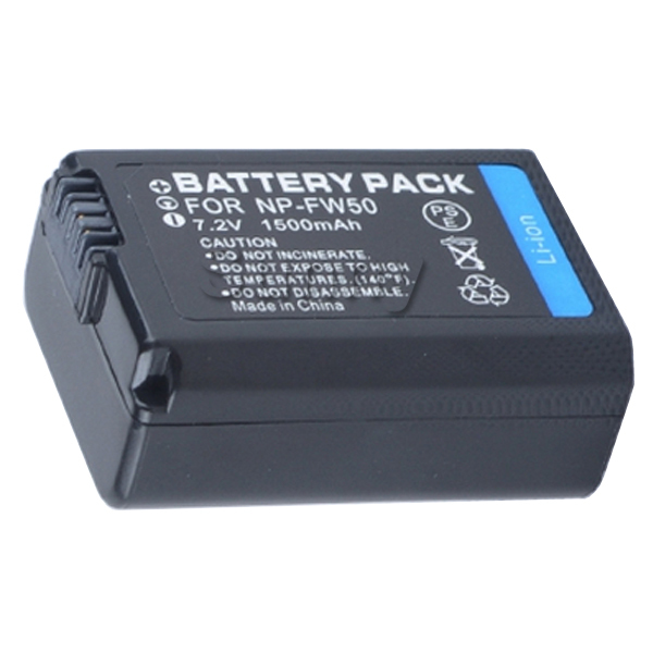 Battery for Sony Alpha ILCE 3000 ILCE 3000K ILCE 5000 ILCE 5000L ILCE 5100 ILCE 5100L