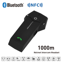 Freedconn 1000M COLO Helmet Headset Bluetooth Intercom for Motorcycle Bluetooth Intercom For Phone/GPSMP3 Connecting Interphones