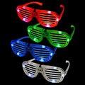 Resplandor vidrios del partido nueva moda light up flash LED gafas glowing juguetes clásicos decorativos partido máscara 1 UNID