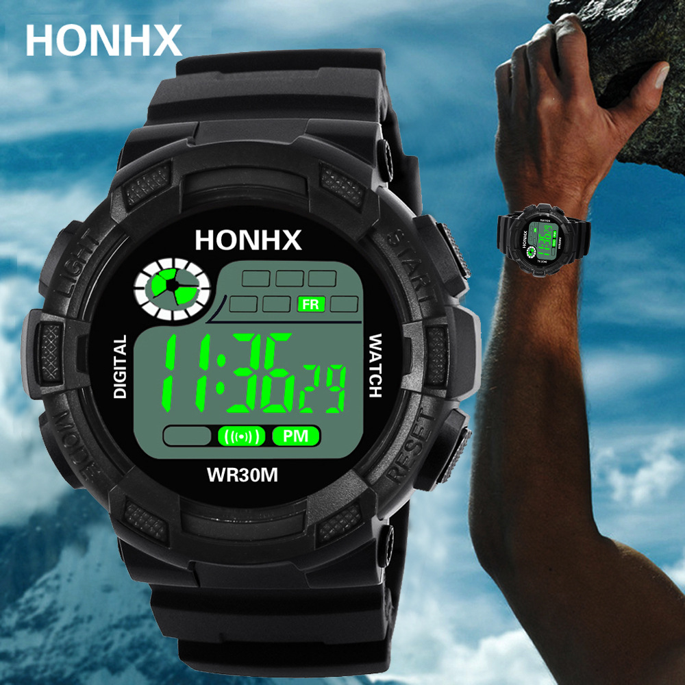 Hot LED Digital Men Watch Outdoor Sports Waterproof Man Women Fashion Casual Military Watch Electronics Wristwatch Reloj Hombre