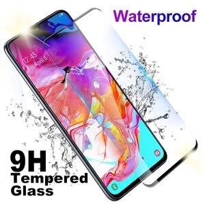 Image 3 - Закаленное стекло 2 в 1 для Samsung Galaxy A70 A 70 A705F SM A705FN A70 A80 A90 A60 A50 A40 A30 A20 A10, мягкая пленка для объектива камеры