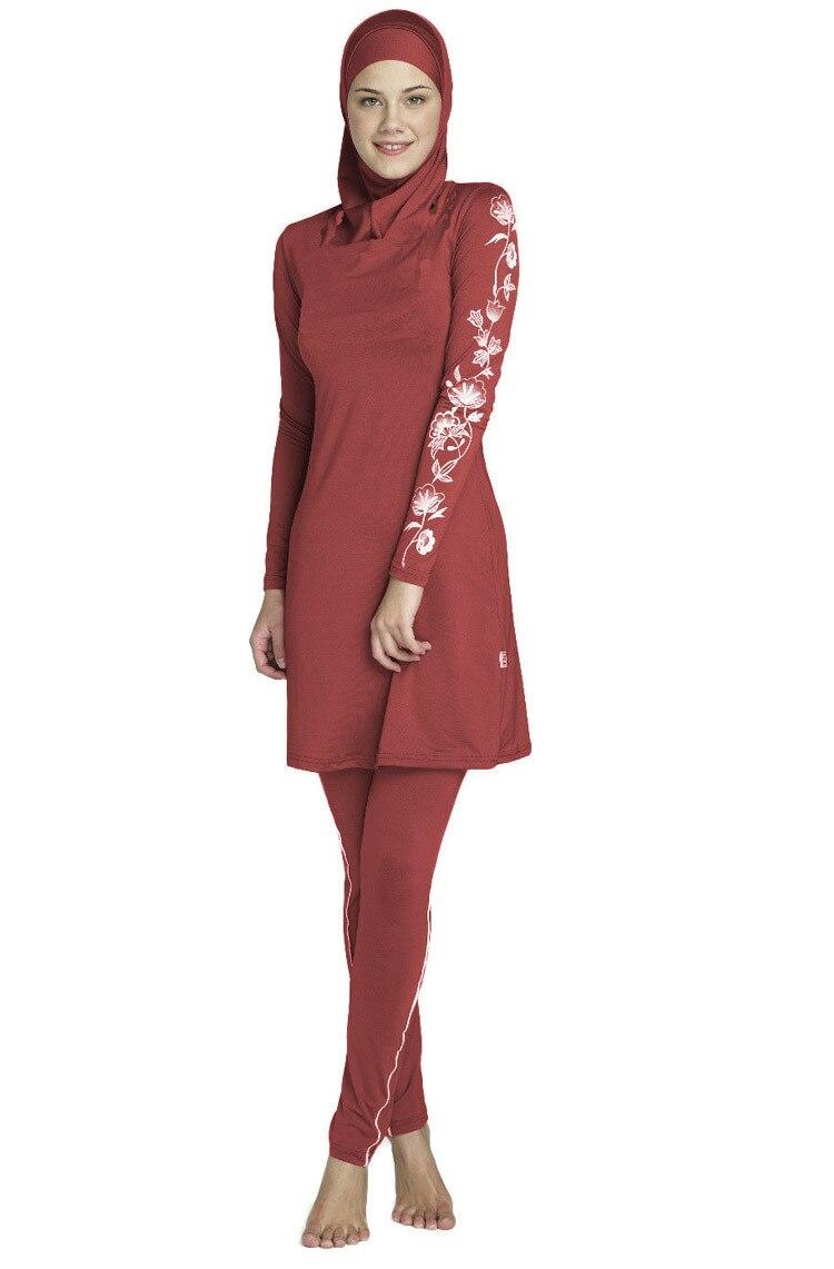Image 2 - 2017 New muslim swimwear islamic swimsuit modest swimwear  swimsuit for womenswimsuit for womenswimsuits modestswimsuit swimsuit