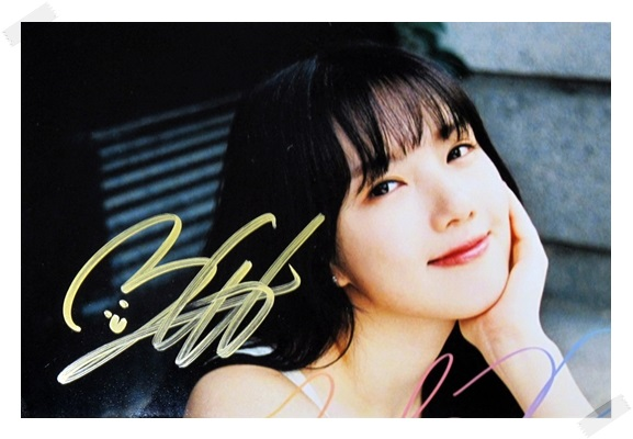 signed  GFRIEND Ye Rin autographed photo RAINBOW  6 inches freeshipping 2 versions 102017 signed tfboys jackson autographed photo 6 inches freeshipping 6 versions 082017 b