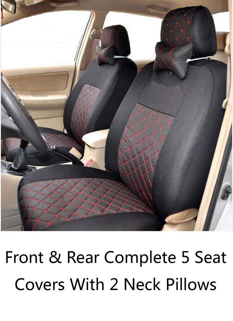 KWheel 4 Color Breathable Seat Cover Customize Car Cushion For CITROEN C Quatre C Elysee C-Zero C1 C2 C3 C5 Free Shipping