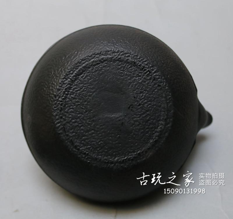 MOEHOMES + ancienne théière en fonte chinoise bouilloire en fonte avec passoire vintage décoration de la maison en métal artisanat théière, pot de vin - 6