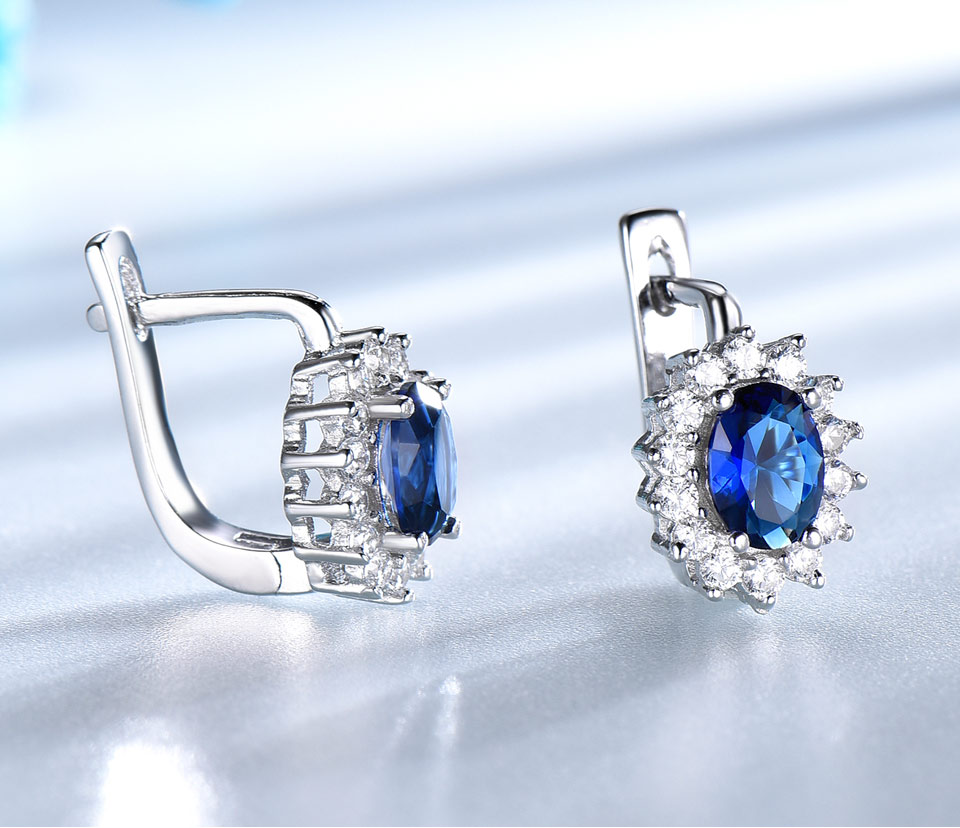 UMCHO-Sapphire-925-sterling-silver-clip-earrings-for-women-EUJ074S-1-pc_03