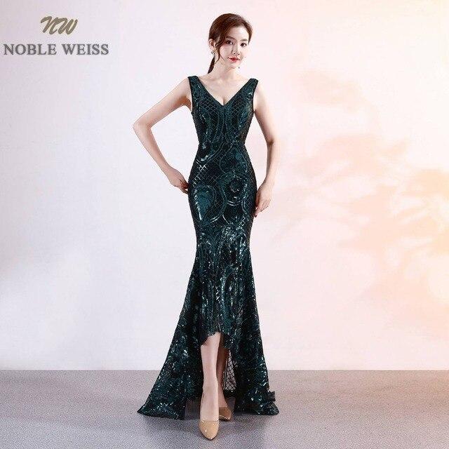 نوبل WEISS فستان حفلة موسيقية فاخرة عميق الخامس الرقبة بلينغ بلينغ سباركلي الساخن بيع مشد رائعة فساتين لحضور الحفلات الموسيقية