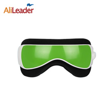 Alileader Vibration Air pressure Infrared Heater Eye Massager Massage glasses Built-In Music and Time Setting Green Color