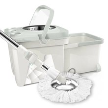 For rotating mop household double folding drawer floor bucket