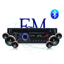 1 din BT Bluetooth car Radio MP3 Stereo FM AUX IN USB SD card Audio Music Remote Control