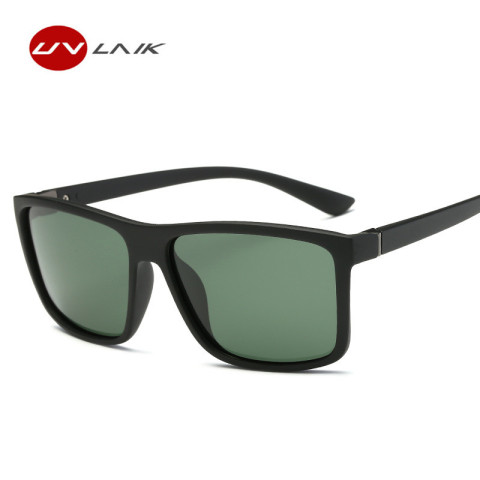 UVLAIK Men Polarized Sunglasses Brand Vintage Square Driving Movement Sun Glasses Men Driver Safety Protect UV400 Eyeglasses Multan