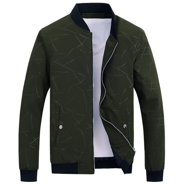 2019 jacket men casual baseball jacket Spring Autumn Fashion Slim Fit Men Jacket Thin Jackets Brand Casual Coat Top Quality 1043