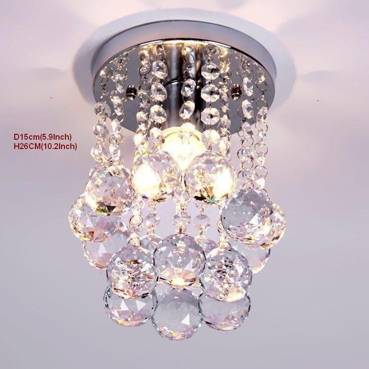 cristal de aço inoxidável moldura luminaria lampe