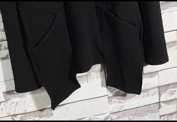 Новинка 2019, хип хоп клатч, бархатный топ с длинным рукавом, мужские толстовки, косплей и толстовки для вечеринки, черная уличная одежда - 3