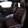 Автомобильные путешествия пользовательские кожаный чехол автокресла для mercedes w204 w211 w210 w124 w212 w202 w245 w163 аксессуары Чехлы для автомобиля