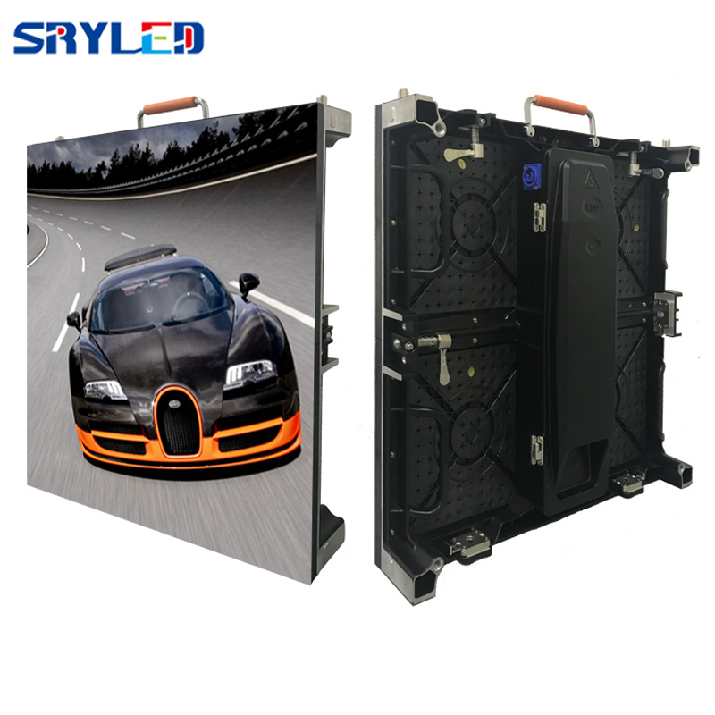 HD 500mm X 500mm High Refresh Rate P3.91 Indoor Rental Led Screen Display For Stage Background Light Weight Rental Led Cabinet