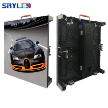 500mm x 500mm high refresh rate P3.91 indoor rental led screen display for stage background light weight rental led cabinet