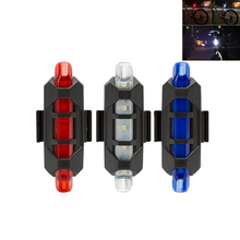 USB  Rechargeable LED  Bicycle Tail Light MTB Safety Warning Lights Portable Bike Rear Seat Lamp Hot Sale Bike Lights