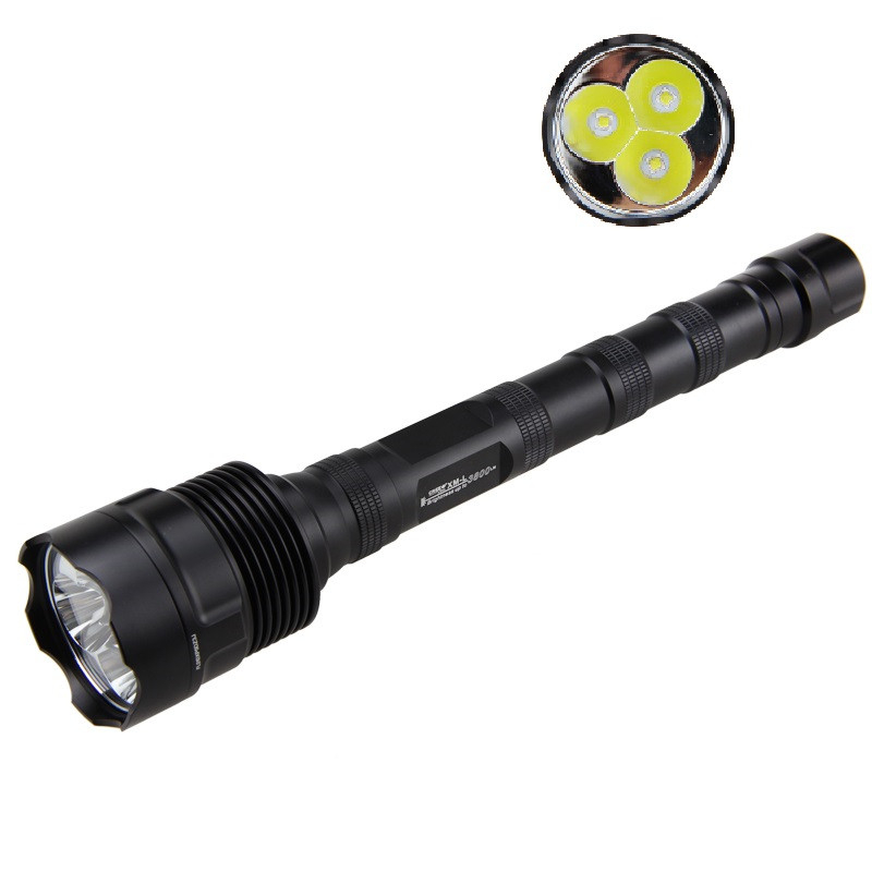 TrustFire 1 Mode Waterproof 1800 Lm TR-3T6 XM-L2 LED Flashlight Torch Hunting