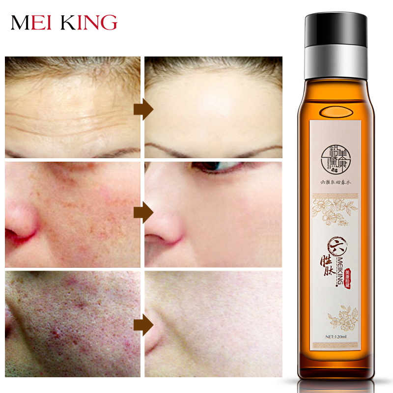 MEIKING Facial Toner Moisturizing Penjagaan Kulit 100% Natural & Organic Anti Aging Pore Minimizer untuk Wajah Menyuburkan & Menghidrat Kulit