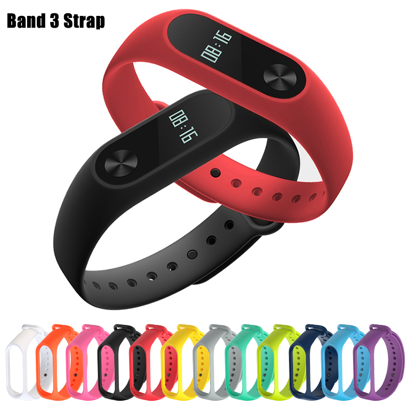 For Xiaomi Mi Band 4 Sport Strap Watch Silicone Wrist Strap On For Xiaomi Mi Band 3 Xiomi My Miband 3 M3 M4 Bracelet Accessories