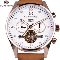 Forsining 2017 estilo de moda britânica camurça cinta dos homens relógios marca superior luxo tourbillion relógio mecânico automático|clock brand|clock fashion|clock men -