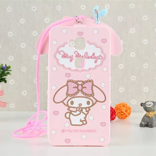 3D Lovely Cartoon Kitty My Melody Cover Case For Huawei Honor 5C/Huawei GT3/