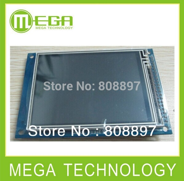 5pcs Free shipping 3 2inch TFT LCD Module touch panel Color Panel Drive IC ILI9341 3