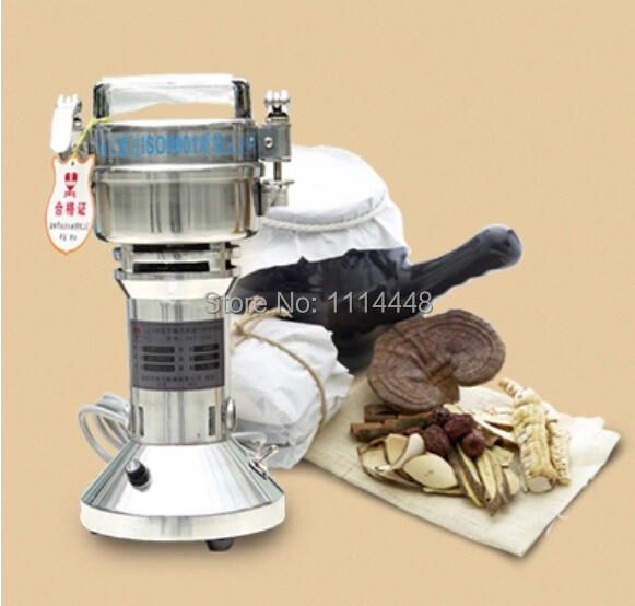High Quality Electric Portable 100g Stainless Steel Herb Mill Cereal Grinding Machine Coffe Grinder Pulverizer|grinding machine|steel grinder machine|portable grinding machine - title=