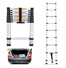 Multifunctional Retractable Telescopic Extension Ladder 6061 Thick Aluminum Folding Telescoping Laddero Household Ladder (2M)(China)