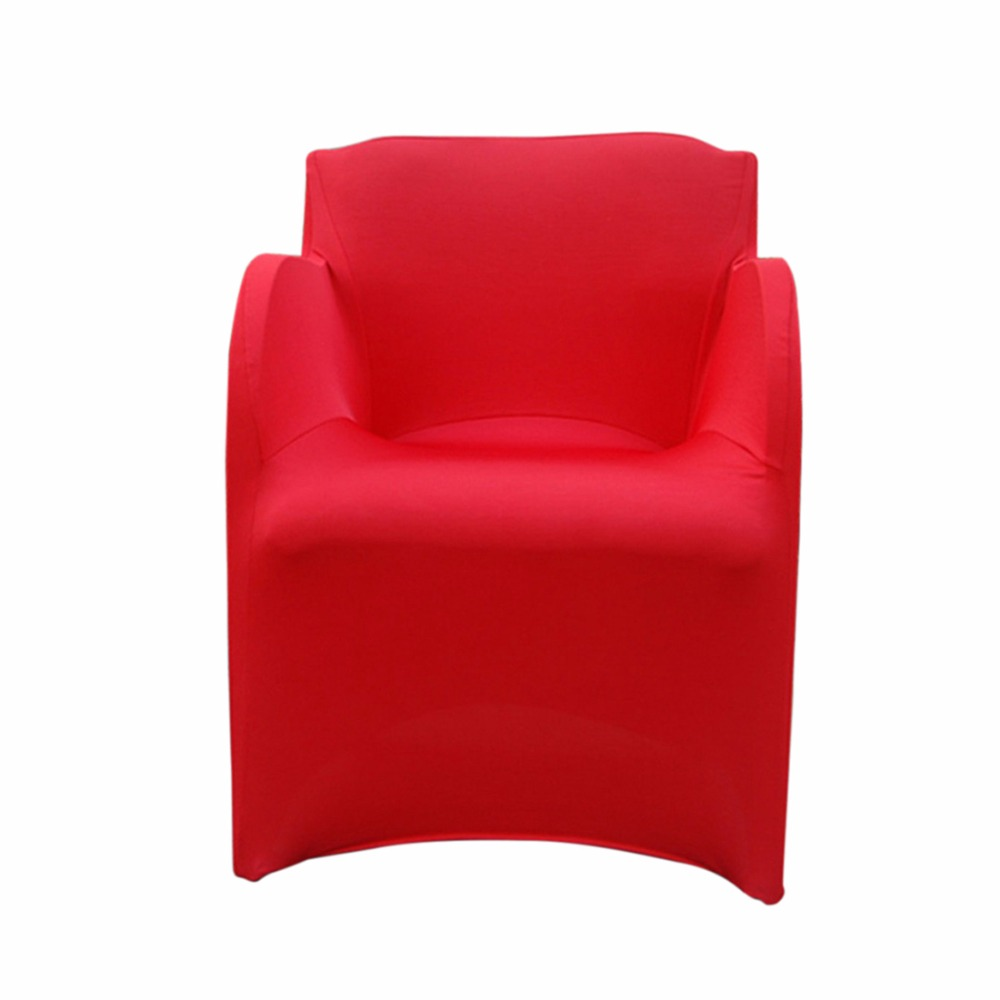 Spandex Slipcovers for Armchairs Stretch Arm Chair Covers Wedding Party Chair Covers Elastic Armchair Cover Housse De Chaise