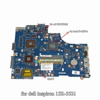 0P55V VAW01 LA 9101P For Dell Inspiron 5521 15R Ins15RD 2728 Motherboard I7 3537U Cpu With