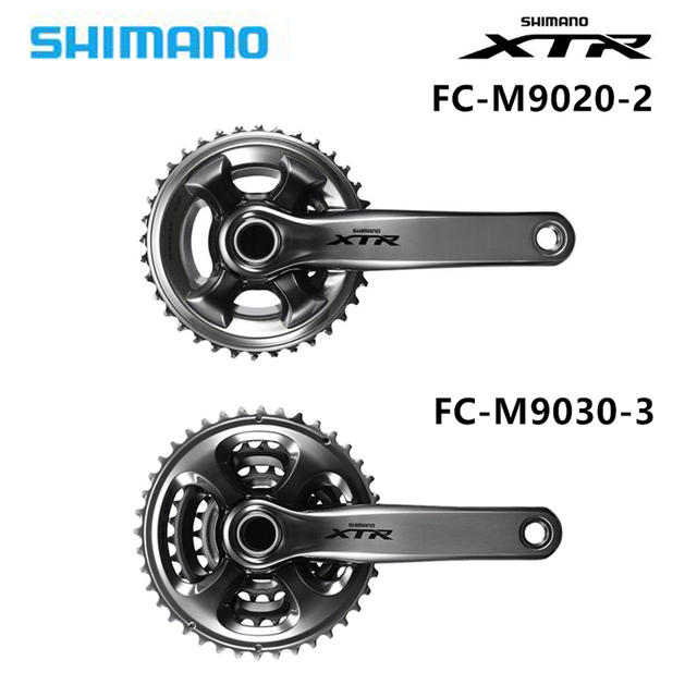 3498aa93f96 Shimano XTR / FC M9020 2 9020 3 Enduro / Trail 11 speed ATV crankset 24  34/26/36/28/38T 22 30 40T 22S 33S-in Bicycle Crank & Chainwheel from Sports  ...