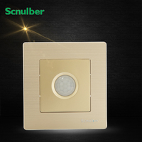 Metal Cover Infrared IR Human Body Detector Induction Sensor Delay Switch