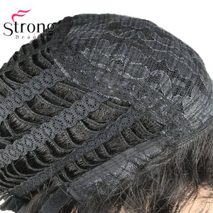 Image 5 - StrongBeauty Black Short Mens Wigs Synthetic Full Wig for Men