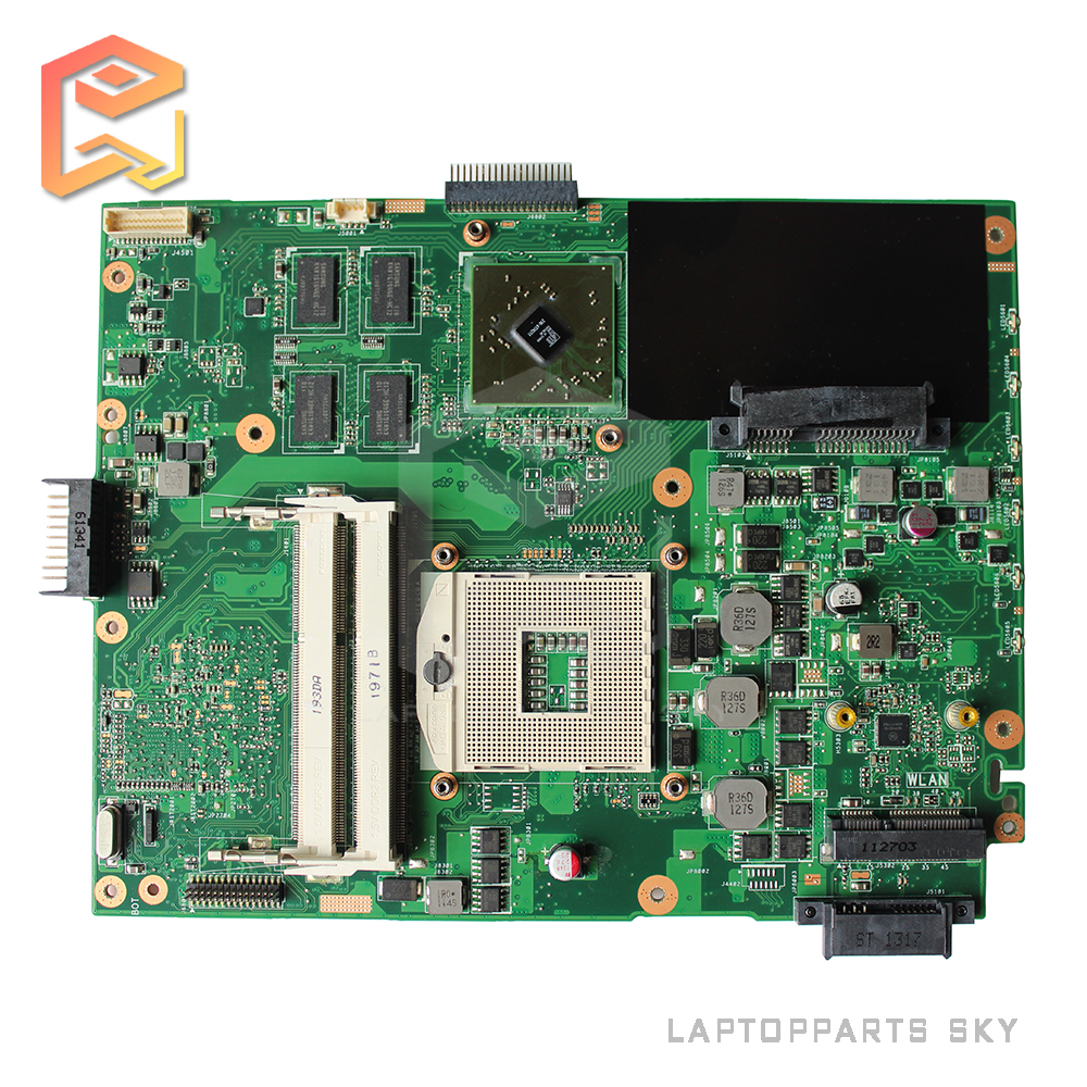 For Asus K52JR K52J A52J K52JT K52JE K52JU Rev 2.3A laptop Motherboard HM55 DDR3 60-N1WMB1100-A22 mainboard  for asus k52jb a52j k52jr k52je k52j 4 pcs on storage laptop motherboard rev2 3 mainboard free shipping
