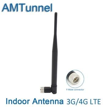 3G 4g antena interior 4g antena externa 10dBi 2g GSM 3g antena con F conector macho para uso interior