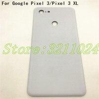 Original 5.5 For HTC Google Pixel 3 Glass Back Battery Cover Case Housing 6.3 For Google Pixel 3 XL Glass Rear Door Housin