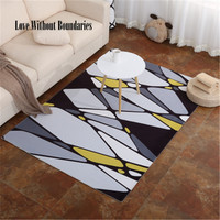 Simple Carpets For Living Room Thicken Soft Kids Room Play Mats Modern Bedroom Area Rugs Large