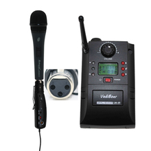 Vadiboer XLR Wireless Transmitter  Adaptor UHF PLL Instrument  Instrument Wireless System Musical Instruments Microphone
