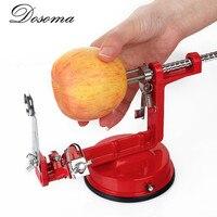 3 en 1 Apple Peeler À Trancher En Acier Inoxydable Fruits Machine Pelées Outil Creative Accueil Cuisine Légumes Trancheuse De Pommes De Terre Cutter Bar