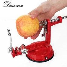 3 en 1 apple peeler de pelado máquina de corte de fruta de acero inoxidable herramienta de la cocina casera creativa vegetal patata slicer cortador de barras