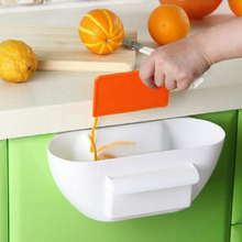 Useful Cute Home Kitchen Cabinet Trash Storage Box Organizers Garbage Holder Portable